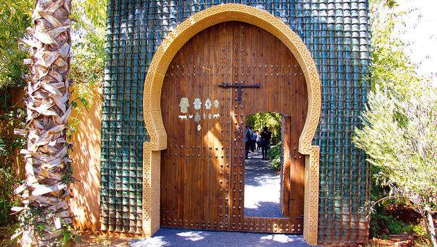 Das Tor zum Privatbereich von André Heller (Bild: Tina Konsel)