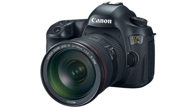 Beste Profi-Spiegelreflex: Canon EOS 5DS/EOS 5DS R. Preis: ab 3300 Euro (nur Gehäuse). (Bild: Canon)