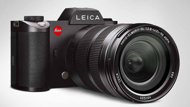 Beste Premium-Systemkamera: Leica SL. Preis: ab rund 6900 Euro (nur Gehäuse). (Bild: Leica)