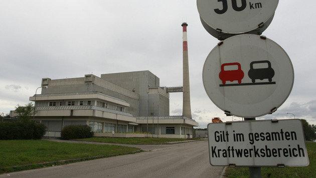 Außenaufnahme vom nie in Betrieb gegangenen AKW Zwentendorf (Bild: APA/HELMUT FOHRINGER)