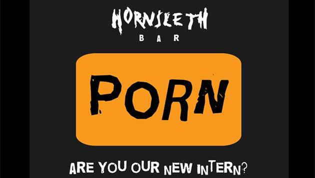 """So wirbt die Bar auf Facebook um den neuen """"Porno-DJ"""". (Bild: Facebook.com/Hornsleth Bar)"""