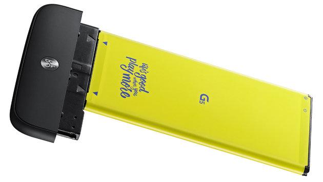 LG G5: Modul-Smartphone für Weitwinkel-Knipser (Bild: LG)