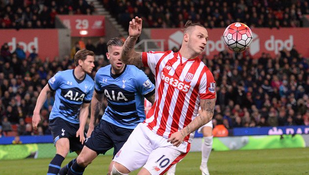 Auch Arnautovic konnte Stokes Fall nicht stoppen (Bild: AFP or licensors)