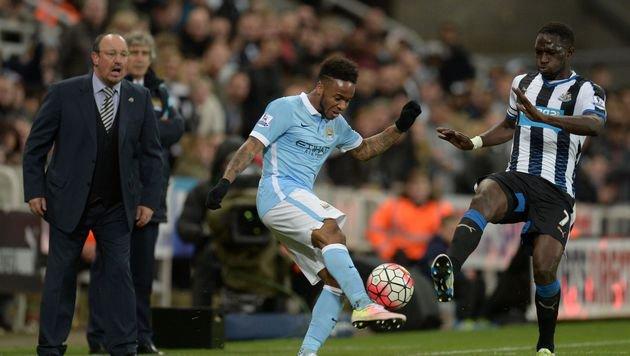 City nur 1:1 in Newcastle, Leicester fix in der CL (Bild: AFP)