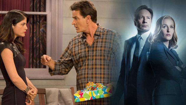 Diese TV-Liebespaare können sich nicht ausstehen (Bild: Fox Television, facebook.com/AngerManagementFX)