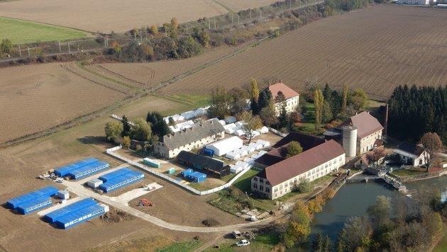Ein Quartier für Rückkehrer (Bild: Infocopter)