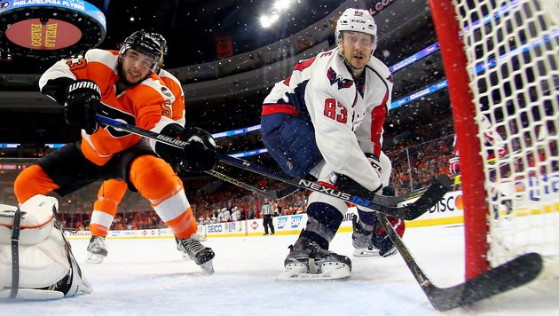 Flyers mit 0:3 zurück, Minnesota nur noch 1:2 (Bild: Getty Images)