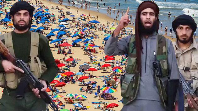 IS plant Terroranschläge an Europas Ferienstränden (Bild: Viennareport, thinkstockphotos.de)