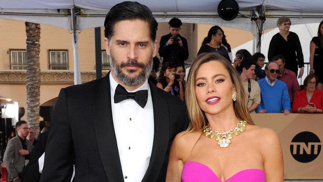 Joe Manganiello mit Ehefrau Sofia Vergara (Bild: Viennareport)