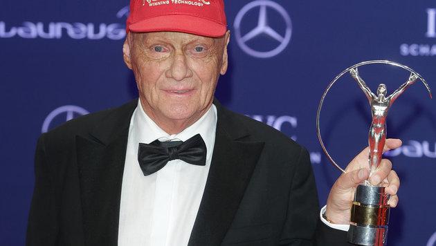 "Niki Lauda verliert Laureus-Award: ""Er ist futsch"" (Bild: APA/dpa/Jörg Carstensen)"