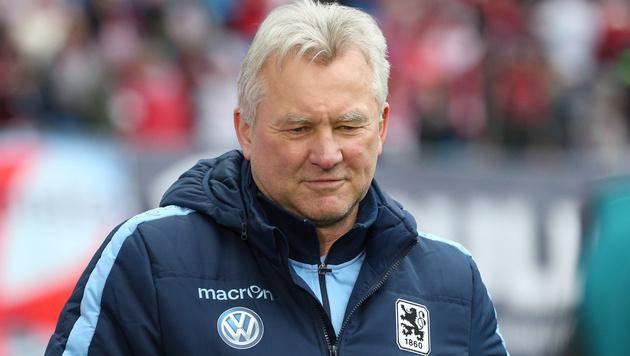 Okotie-Klub 1860 feuert Trainer Benno Möhlmann (Bild: GEPA)
