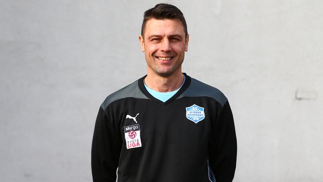 Rene Wagner als neuer Cheftrainer bei Wr. Neustadt (Bild: GEPA)