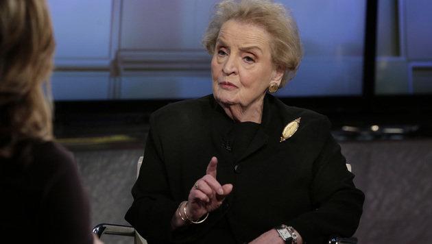 Ex-Au�enministerin Madeleine Albright fordert eine �berarbeitung der US-Einwanderungspolitik. (Bild: ASSOCIATED PRESS)