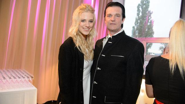 Larissa Marolt und ihr Vater Heinz (Bild: Viennareport)