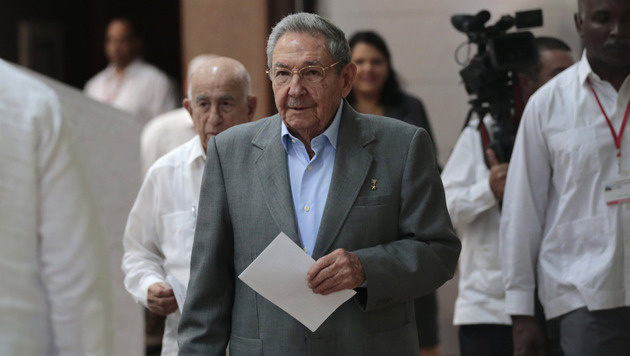 Raul Castro am Parteitag (Bild: Associated Press)