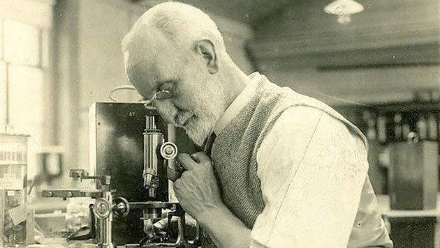 Der Meeresforscher George Parker Bidder III. (Bild: The Marine Biological Association)