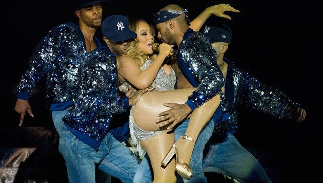 Mariah Carey: Immer mit dem Blick zurück (Bild: Andreas Graf)
