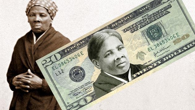 """Erstmals schwarze Frau auf einem US-Geldschein (Bild: National Portrait Gallery (Public Domain), APA/AFP/Women On 20""""s)"""