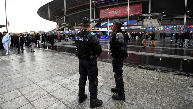 Fußball-EM: Frankreich verlängert Ausnahmezustand (Bild: APA/AFP/FRANCK FIFE)