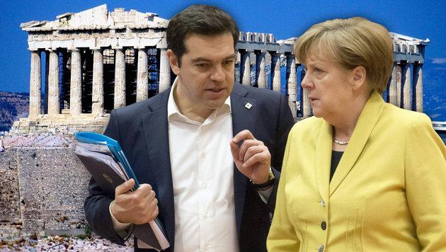 Griechenland droht schon wieder die Pleite (Bild: APA/AFP/JOHN THYS, thinkstockphotos.de)
