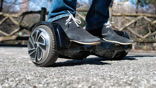 """""""Hoverboard""""-Trend: Halblegal und brandgefährlich (Bild: thinkstockphotos.de)"""