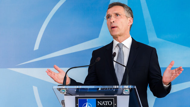 NATO-Chef Stoltenberg (Bild: Associated Press)