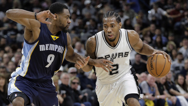 San Antonio und Atlanta im NBA-Play-off 2:0 voran (Bild: AP)