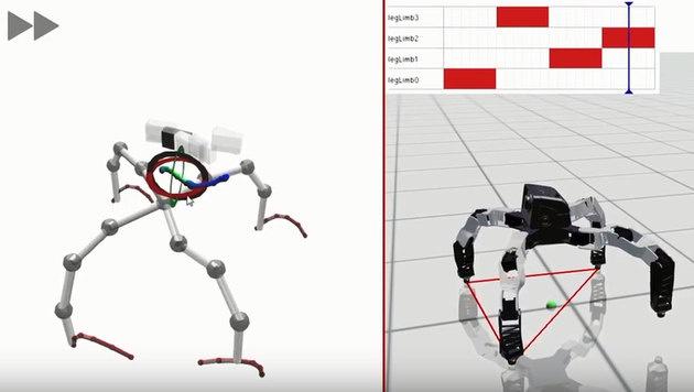 Software ermöglicht 3D-Druck von Robotern (Bild: YouTube)