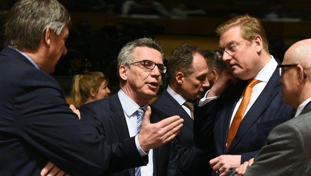 EU streitet weiter über Verteilung von Syrern (Bild: AFP or licensors)