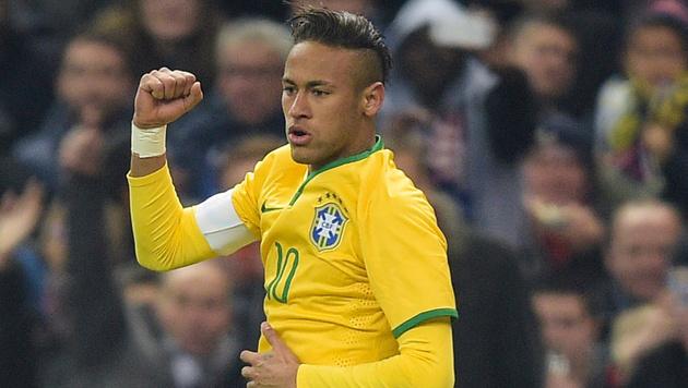 Neymar bei den olympischen Spielen in Rio dabei (Bild: GEPA)
