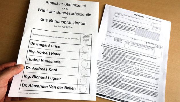 Panne: Online-Anträge für Briefwahl verschollen (Bild: APA/GEORG HOCHMUTH)
