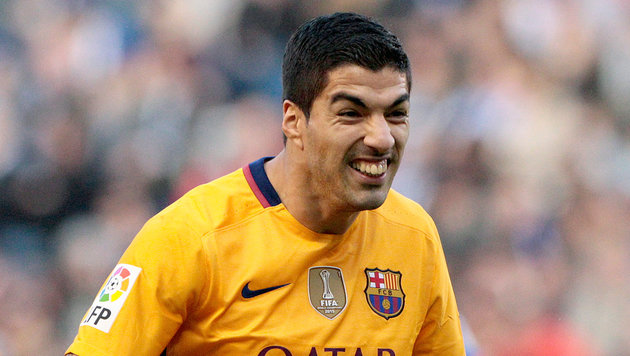 Luis Suarez (Bild: ASSOCIATED PRESS)