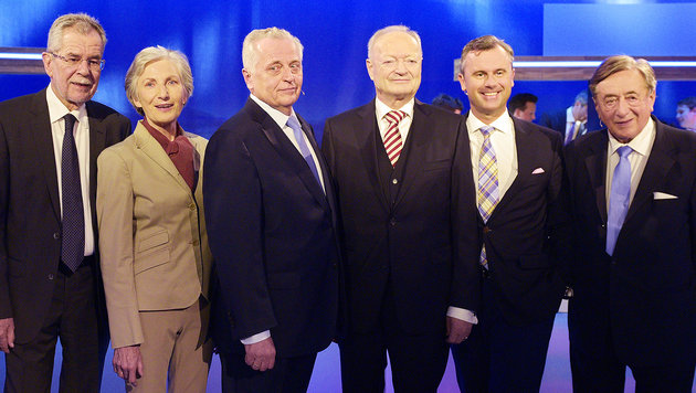 Wahlsonntag bescherte TV-Sendern hohe Quoten (Bild: APA/Hans Punz)