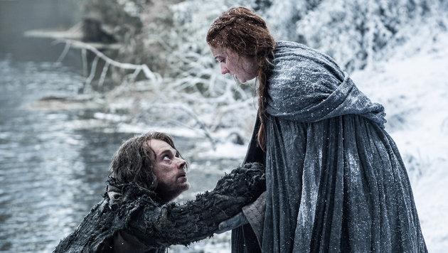 Theon Graufreud und Sansa Stark (Bild: HBO)