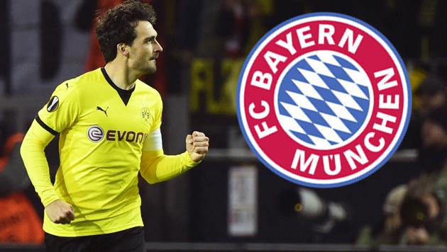 30 Millionen! Bayern will nächsten Dortmund-Star (Bild: APA/AFP/JOHN MACDOUGALL)