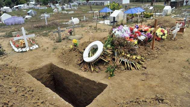 Der B�rgerkrieg in Kolumbien forderte bisher schon mehr als 220.000 Todesopfer. (Bild: GUILLERMO LEGARIA)