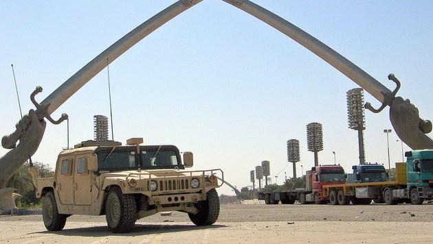 Ein Humvee in Bagdad (Bild: AFP)