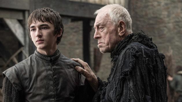 Bran trifft auf den dreiköpfigen Raben in Menschengestalt. (Bild: HBO)