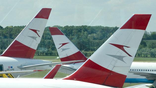 AUA bietet in Jets kostenpflichtiges Internet an (Bild: APA/HERBERT NEUBAUER)