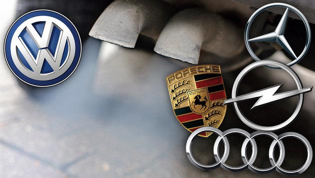 Deutsche Hersteller rufen 630.000 Autos zur�ck (Bild: APA/dpa/Jan Woitas, VW, Mercedes, Opel, Porsche, Audi)