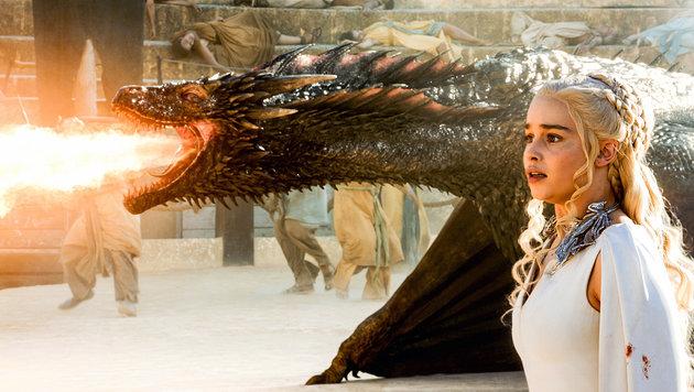 """Feurig geht""""s sicher auch in der neuen Staffel """"Game of Thrones"""" zu. (Bild: HBO)"""