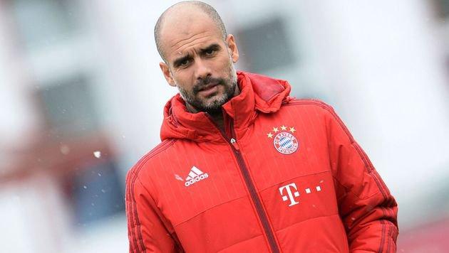 Guardiola rechnet nicht mit Bayern-Titel in Berlin (Bild: APA/AFP/dpa/ANDREAS GEBERT)