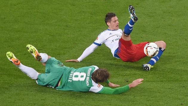 HSV vertreibt mit 2:1 über Bremen Abstiegsgespenst (Bild: GEPA)