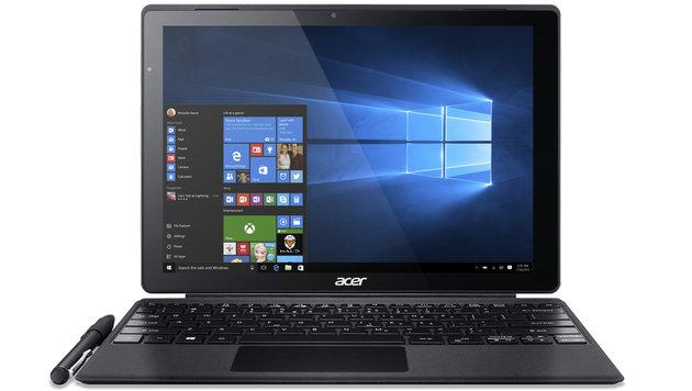 Surface-Rivale mit Flüssigkeitskühlung ausprobiert (Bild: Acer)