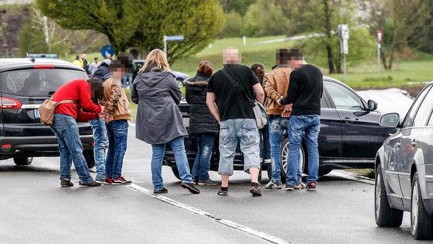 Schlag gegen Schlepper-Trio an Salzburger Grenze (Bild: Markus Tschepp)