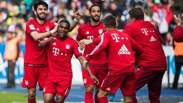 Bayern-Meisterparty verschoben, weil BVB siegt (Bild: APA/AFP/ODD ANDERSEN)