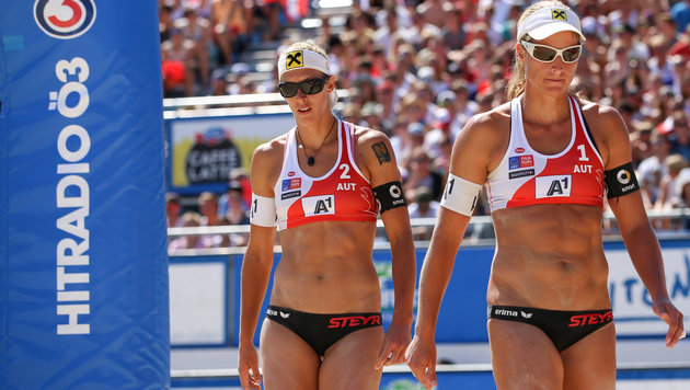 Beach-Volleyball: Schwaiger/Hansel Fünfte in China (Bild: GEPA)