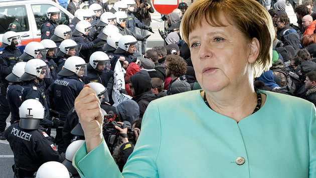 """Bei Ansturm auf Brenner """"macht Österreich dicht"""" (Bild: APA/AFP/ANP/ROBIN VAN LONKHUIJSEN, ASSOCIATED PRESS)"""