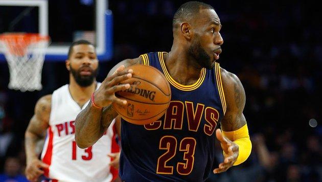 Cleveland und San Antonio in NBA vor Aufstieg (Bild: 2016 Getty Images)
