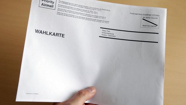 Fehlerhafte Wahlkarten: Behörden-Appell an Bürger (Bild: APA/GEORG HOCHMUTH)